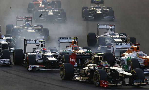 F1-kausi alkaa.