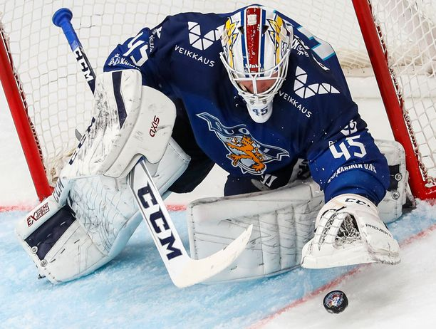Jussi Olkinuora on kuumin Euroopassa pelaava suomalaisvahti.