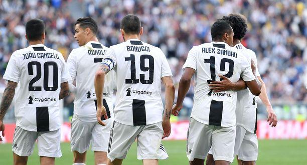 Juventus varmisti mestaruuden.
