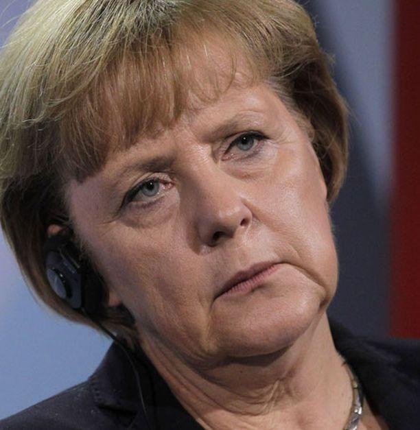 Angela Merkeliä on Kreikassa verrattu natseihin.
