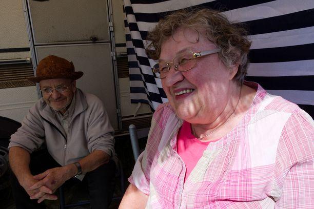 Leena ja Raimo Mutanen ovat syksyllä olleet 50 vuotta naimisissa.