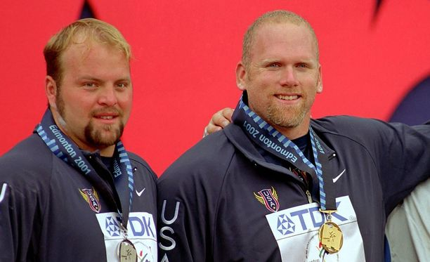 Adam Nelson ja John Godina