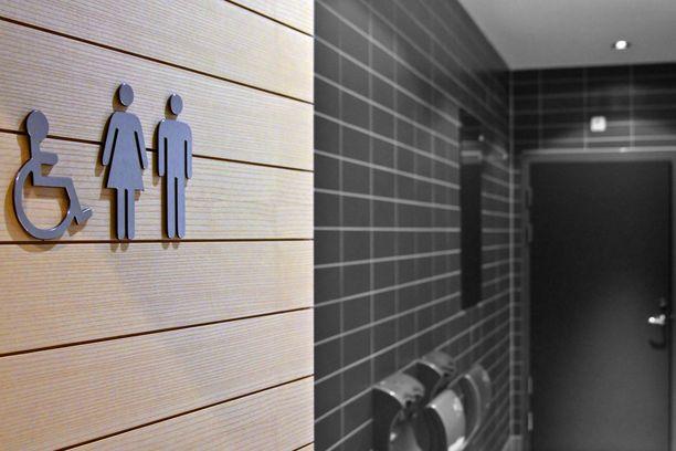 Vartija hälytettiin wc-tiloihin naisen avuksi, kun avunhuuto herätti sivullisen huomion.