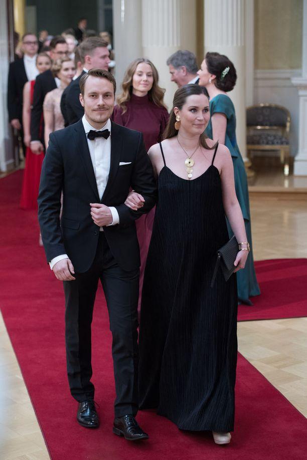 Vauva on Marinin, 32, ja hänen puolisonsa, yrittäjä Markus Räikkösen ensimmäinen.