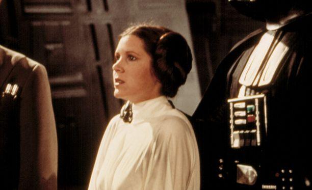 Erityisesti prinsessa Leian roolista tunnettu Carrie Fisher ehti näytellä lukuisissa elokuvissa.