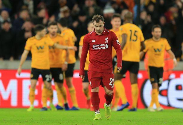 Xherdan Shaqirin elekieli kertoo Liverpoolin cuppettymyksestä.