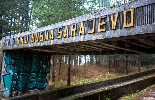 Sarajevon talviolympialaiset kisattiiin vuonna 1984.