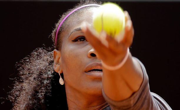 Serena Williams koki koiranruoan liian houkuttelevaksi.