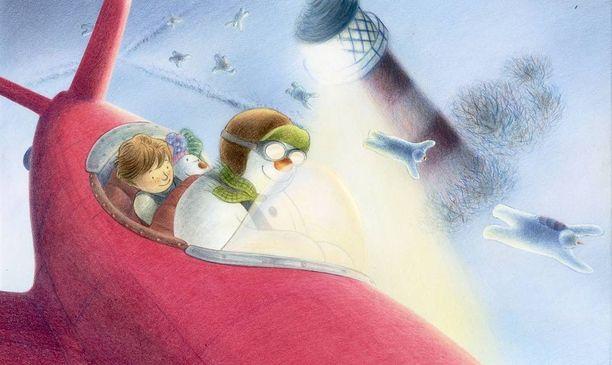 Raymond Briggs antoi siunauksensa Lumiukko ja lumikoira -animaatiolle, muttei osallistunut sen tekoon.