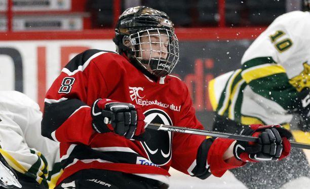 Otto Kivenmäki saattaa olla todellinen musta hevonen NHL:n varaustilaisuudessa.