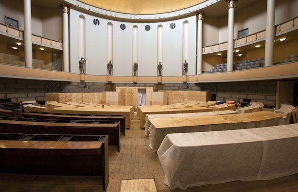 Eduskuntatalon remontti on loppusuoralla. Remonttiin on uponnut rahaa yli 270 miljoonaa.