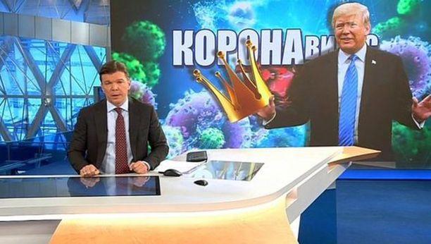 Venäjän katsotuin uutisohjelma vihjaa, että koronavirus on Yhdysvaltojen kehittämä salainen ase.