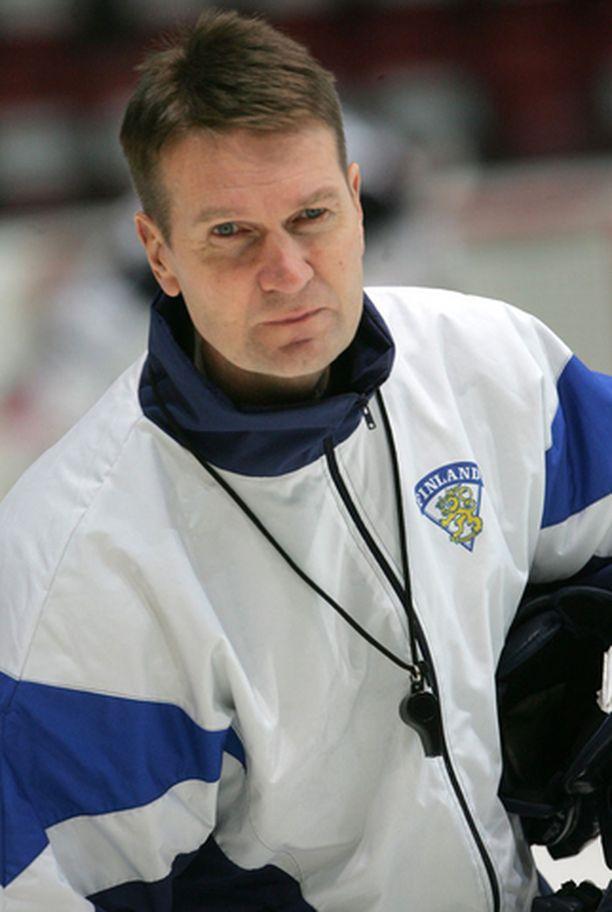 Erkka Westerlund ei vielä paljastanut torstain USA-ottelun miehitystä.