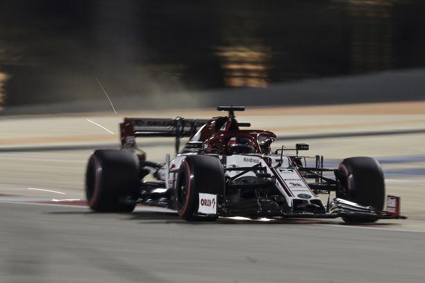Kimi Räikkönen ei taatusti muistele aika-ajoja lämmöllä.