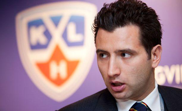Roman Rotenbergin mukaan Helsingin Jokerit näyttelee suurta osaa KHL:n kehityksessä.