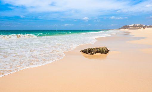 Kap Verde tarjoaa upean kauniita rantoja.