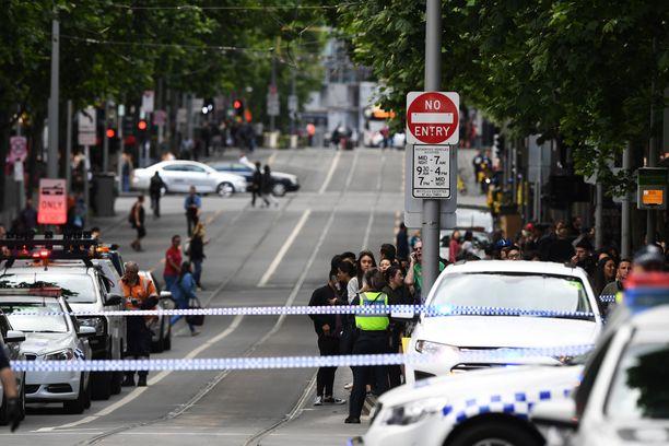 Teko tapahtui Bourke Streetillä, joka on yksi Melbournen vilkkaimmista kaduista.