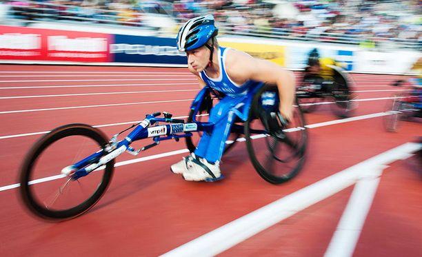 Leo-Pekka Tähti on jo paralympialaisten nelinkertainen kultamitalisti.