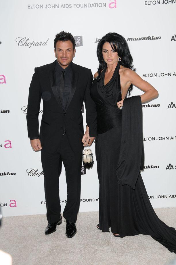 Katie Price ja Peter André erosivat vuonna 2009.