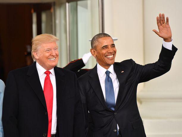 Trump uskoo Obaman pitävän hänestä.