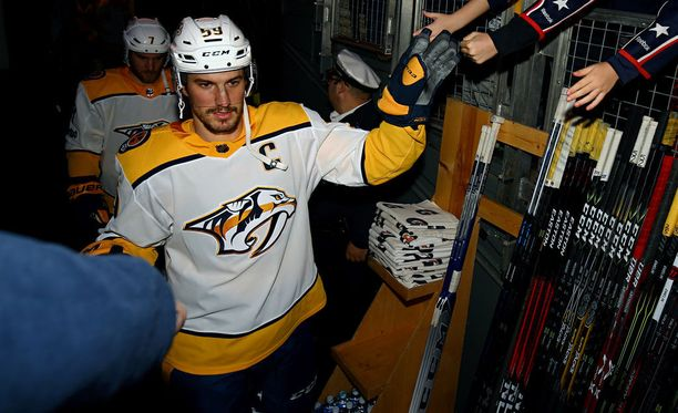 Roman Josi on Nashvillen kapteeni.