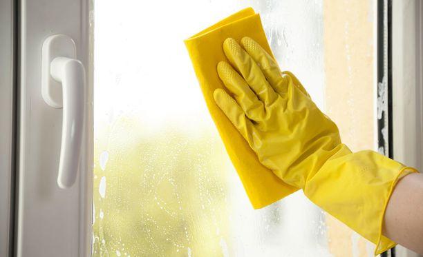 Ikkunanpesu kirkastaa kodin.