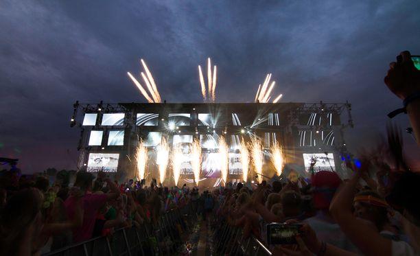 Weekend Festivalista koitui 170 melupalautetta, mutta muuten festivaali ei työllistänyt poliisia kovinkaan paljon.