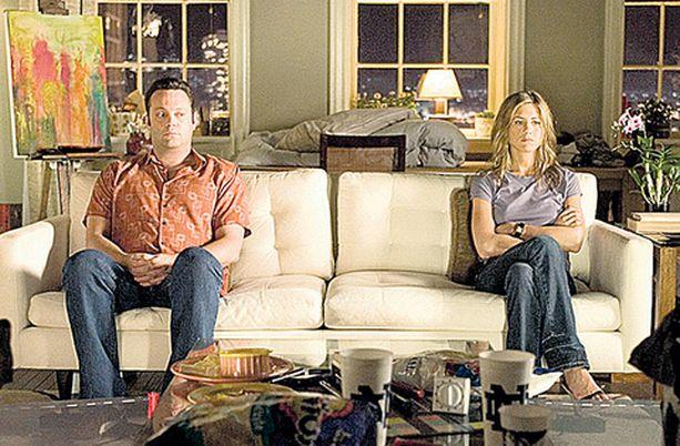 Jennifer Aniston ja Vince Vaughn eivät eroa ystävinä.