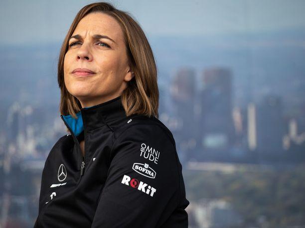 Claire Williamsin mukaan Williams-tallin nykyiset ongelmat ovat peruja yhdestä huonosta päätöksestä, jonka hän teki vuonna 2015.