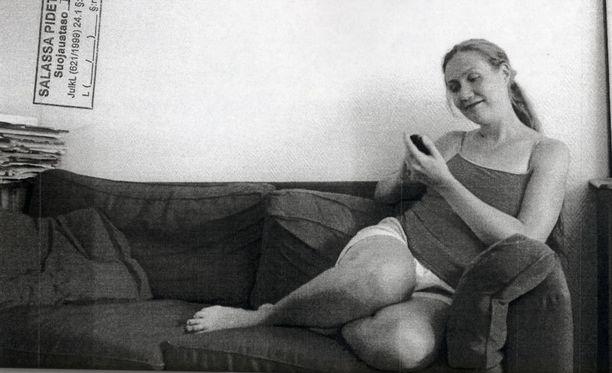 KUVA TUTKINTAMATERIAALISTA. KKO:lle toimitetun tutkintamateriaalin joukossa on myös valokuvia. Tämä kuva liitty osaksi todistelua siitä oliko Auerilla surman aikoihin omaa matkapuhelinta vai ei.