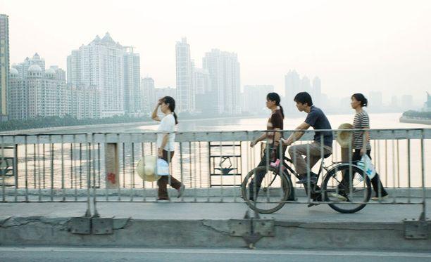 Pohjois-Korean tekemän tutkimuksen mukaan Kiinassa ihmisen on hyvä olla.