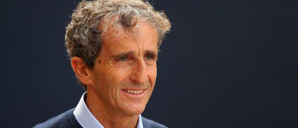 Alain Prost oli paikalla Monacon GP:ssä. 59-vuotias ranskalainen on huolissaan F1-sirkuksen suosiosta.