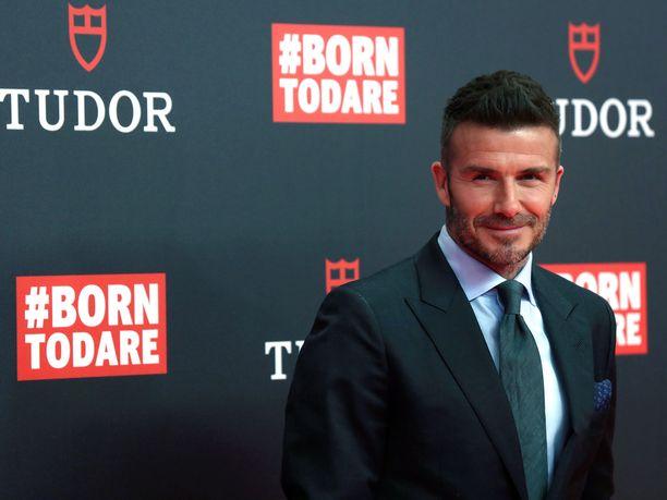 David Beckham julkaisi Instagramissa kuvan itsestään liki tunnistamattomana.
