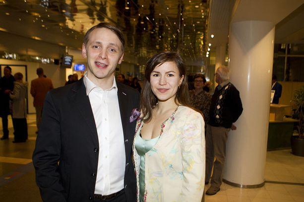 Reino ja Maria Nordin saavat kesällä kolmannen lapsensa. Kuva vuodelta 2013.