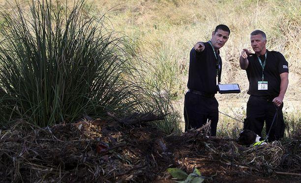 Kierros vie myös paikoille, joista Madeleinen ruumista on vuosien mittaan etsitty. Kuva on vuodelta 2014.