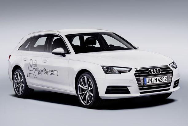 Audi A4 g-tron.
