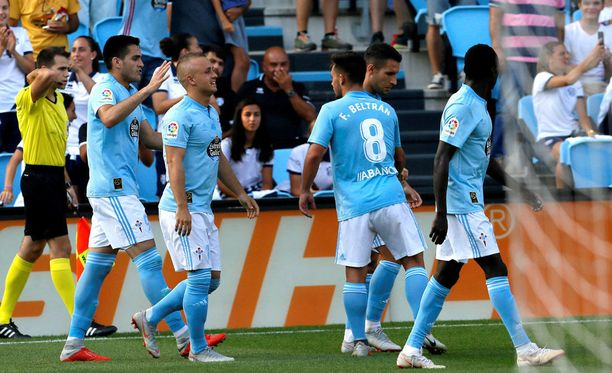 Celta Vigo juhli kotikentällään Atletico Madridin kustannuksella.