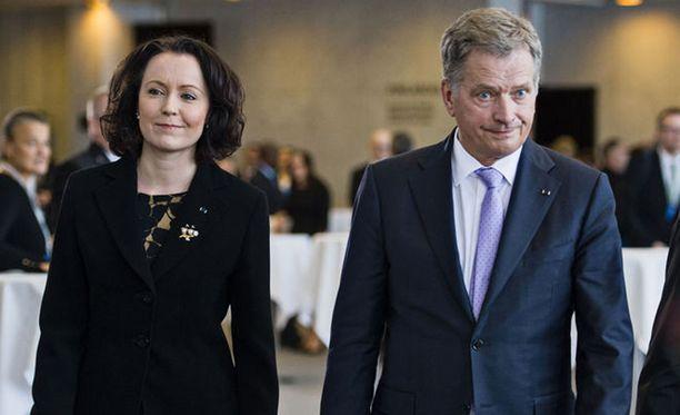 Sauli Niinistö ja Jenni Haukio saavat vieraakseen Pohjoismaiden valtionpäämiehet.