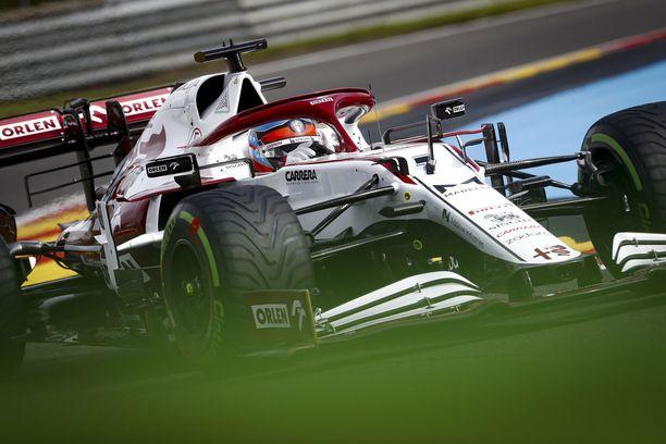 Kimi Räikkönen on voittanut Spassa neljästi.