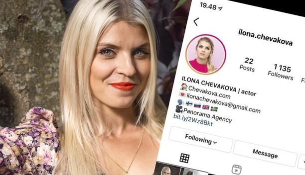 Näyttelijä Ilona Chevakova jätti keväällä Salatut elämät -sarjan. Kesällä hän sai roolin kansainvälisestä Netflix-sarjasta.