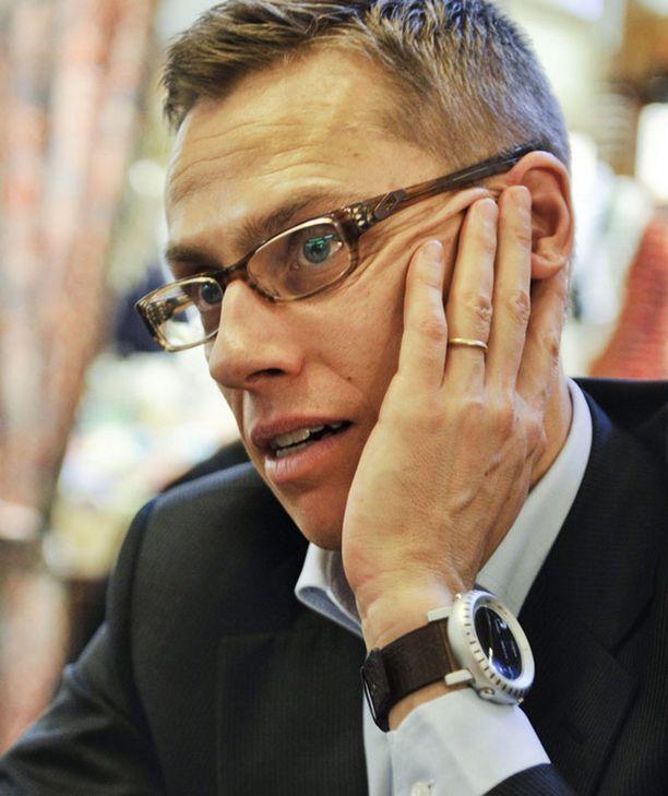 Alexander Stubb ei ole tällä hetkellä kansanedustaja.