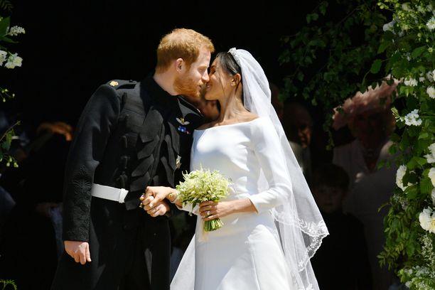 Herttuatar Meghan ja prinssi Harry saivat toisensa toukokuussa 2018.
