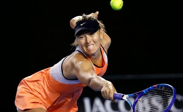 Maria Sharapova on tiedottanut jääneensä kiinni dopingtestissä.