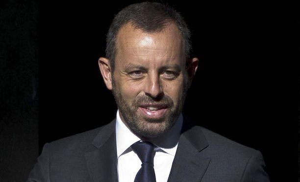 Espanjan poliisi pidätti Sandro Rosellin.