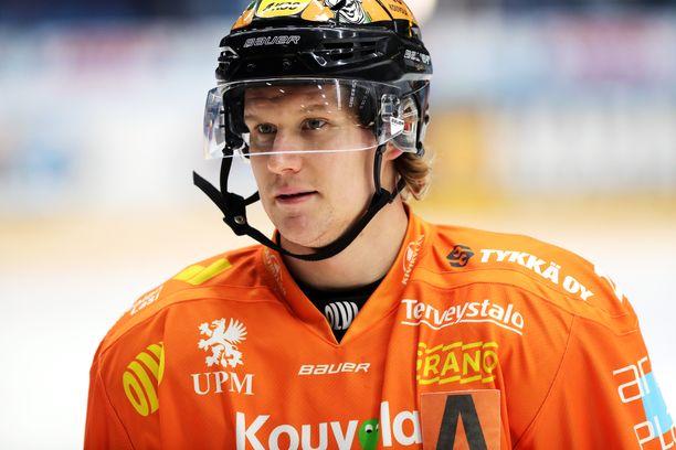 Alexander Bonsaksen sai neljän pelin huilin SM-liigan kurinpitodelegaatiolta.
