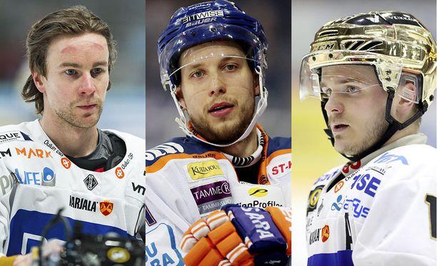 Mikael Ruohomaa siirtyy Neftehimikiin, Jukka Peltola ja Julius Junttila Sibiriin.