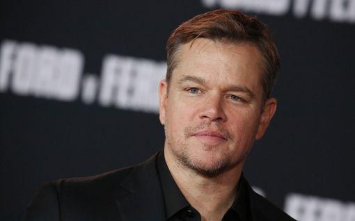 Matt Damon juuttui koronan takia Eurooppaan - USA:ssa asuva tytär sai tartunnan