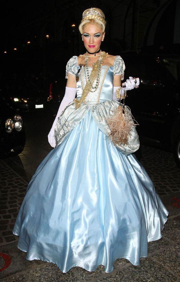 Gwen Stefani prinsessa-asussa.