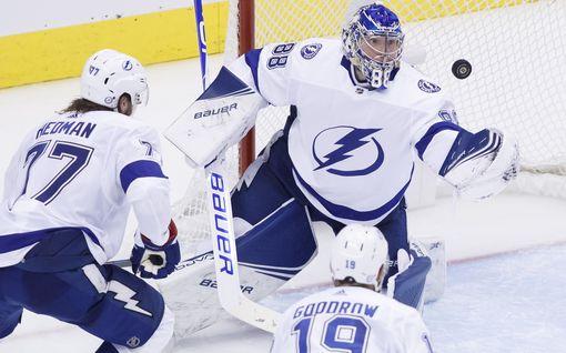 Näkökulma: Tampa Bay Lightningille ei löydy pysäyttäjää, eikä Stanley Cupille suomalaista voittajaa