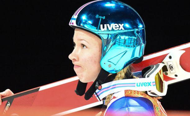 Julia Kykkänen jäi kauas kärjestä.